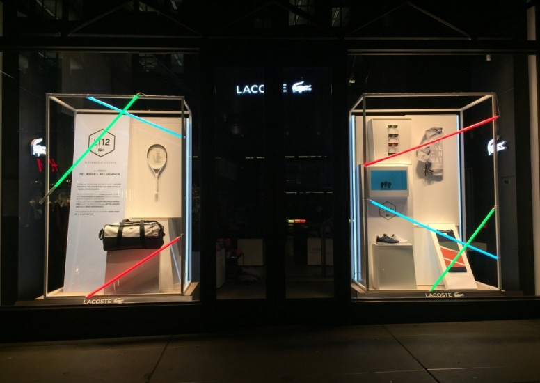 Visual Merchandise at Lacoste