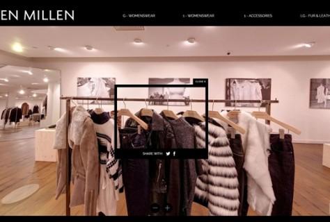 Karen Millen Virtual Store