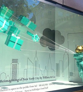 Tiffany and Co Window Display