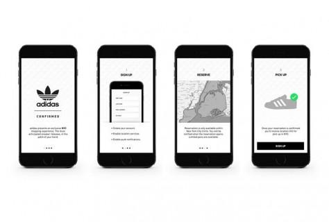 Adidas app screenshot
