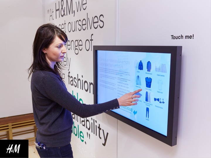 H&M Digital intergration in store