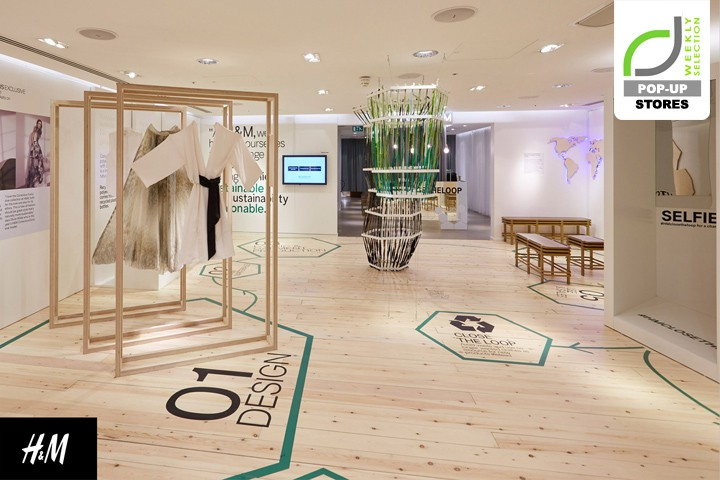 H&M Branded Space in store
