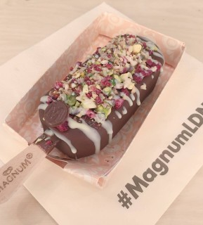 Magnum ice cream from pop up shop