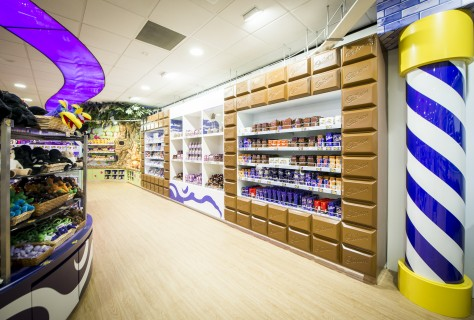 Cadbury World Retail design