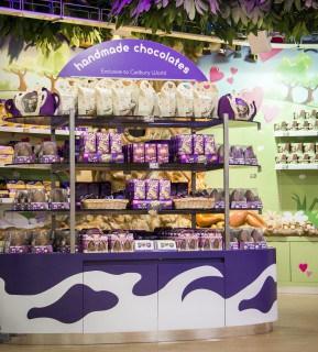 Cadbury world stand
