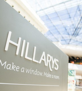 Hillarys branded space at the bullring