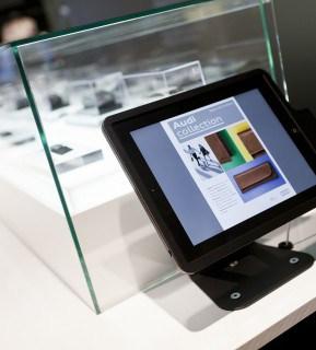 Technology in Audi Showroom