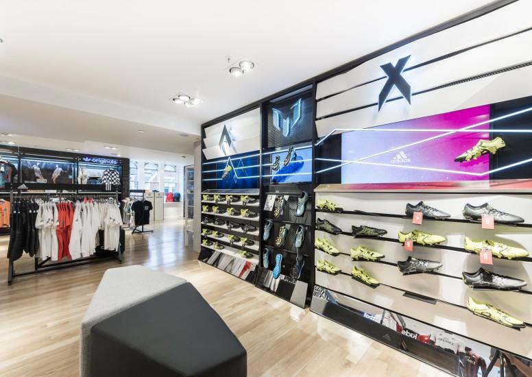 Adidas retail design shop