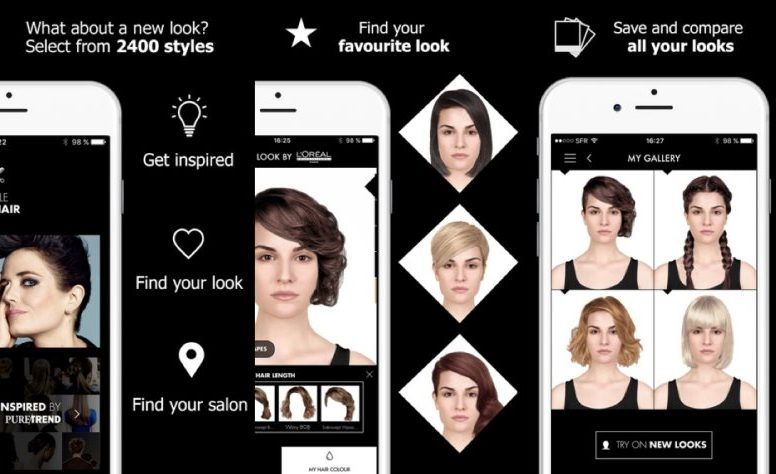 L\'Oreal Augmented Hairstyle App - Design4Retail