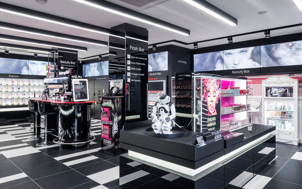 Sephora's Digital Store - Design4Retail