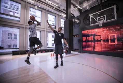 Experiential sports retail design