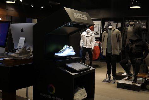Nike ID Virtual Reality Retail
