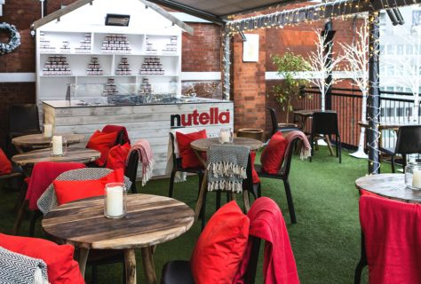 Nutella Harvey Nichols Pop Up