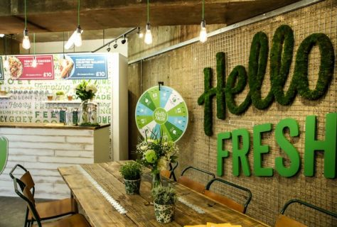 Hello Fresh Pop-Up Shop