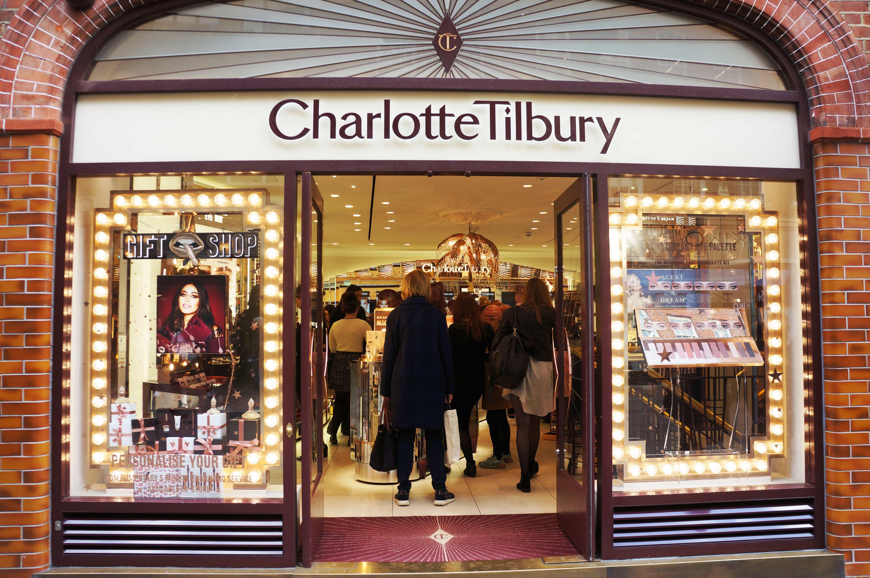Charlotte Tilbury Window Display