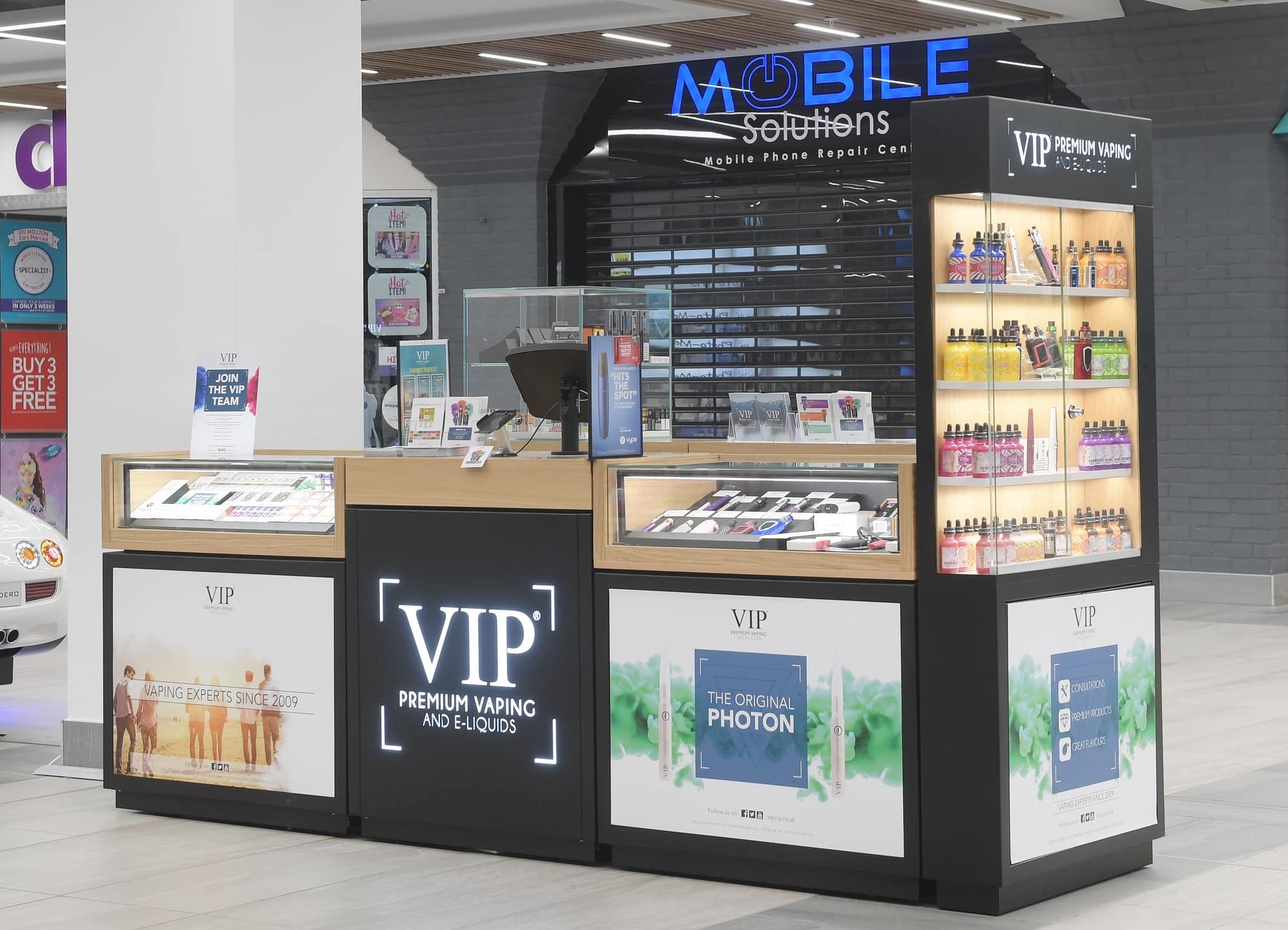 point of sale design for VIP