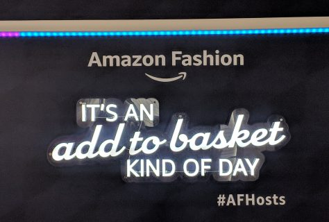 amazon fashion signage