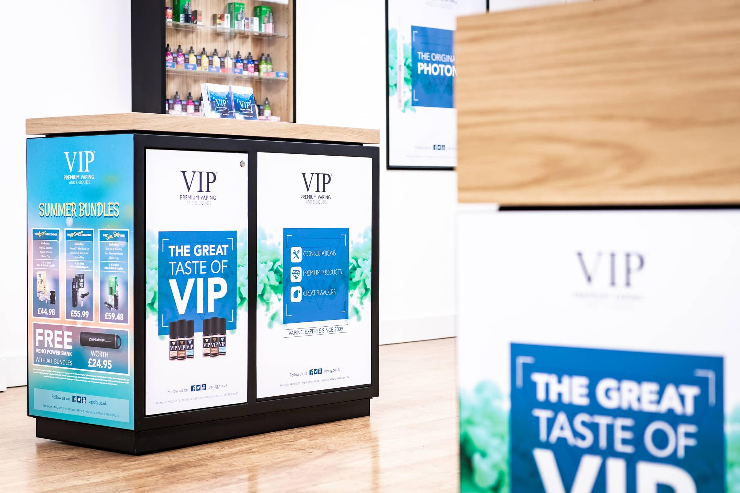 VIP store designs
